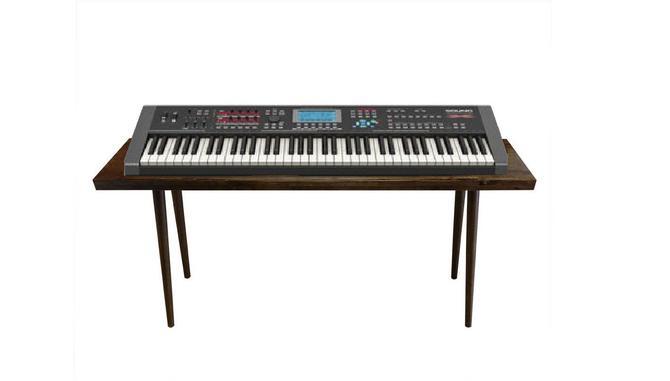 IN STOCK Mid Century Keyboard Stand Desk by OrWaDesigns