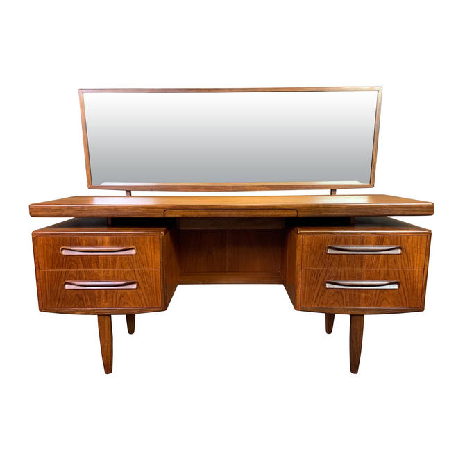 "Vintage British Mid Century Modern Teak ""Fresco"" Vanity and Mirror by G Plan #2 by AymerickModern"