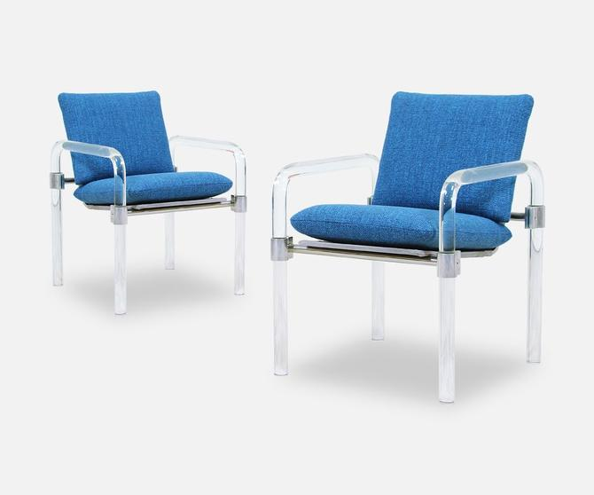 Mid-Century Modern Pipe Line Series II Arm Chairs by Jeff Messerschmidt