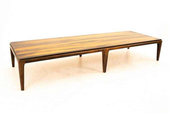 Paul McCobb Style Lane Rhythm Mid Century Long Coffee Table - mcm by ModernHill