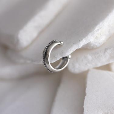 Sterling Silver Textured Ear Cuff