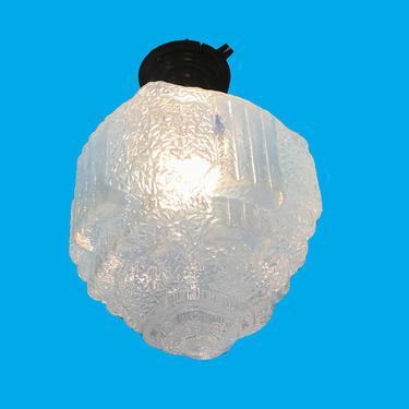 Art Deco Flush Mounted Light