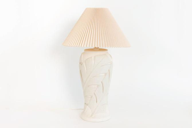Palm Table Lamp by HomesteadSeattle