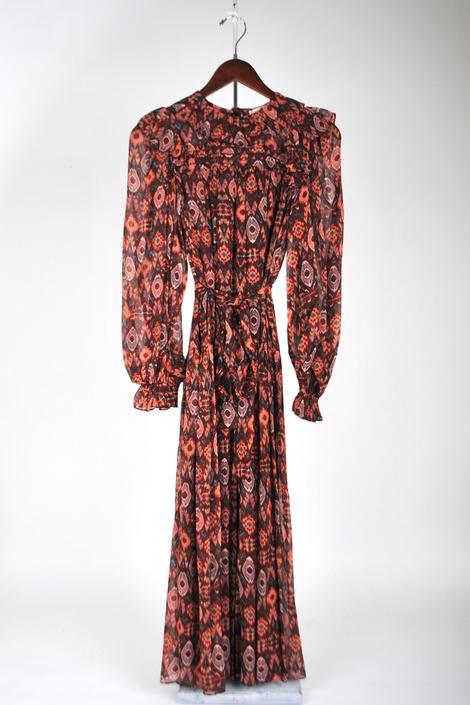 Zehra Dress - Garnet