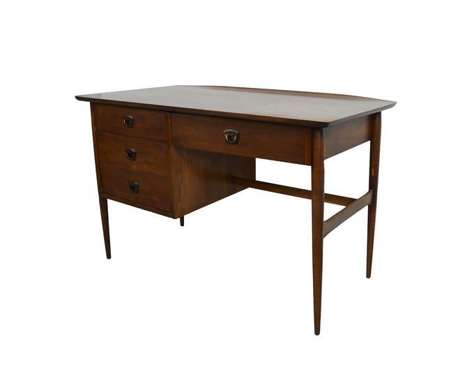 Bassett Furniture Atlanta: Walnut Desk Bassett Furniture Mid Century Modern By
