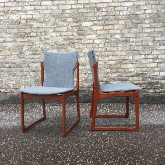 Kurt Ostervig Designed Teak Dining Chairs