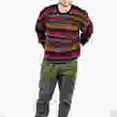 Vintage 90s Burberry Wool Striped Sweater Sz L by UnfadedEra