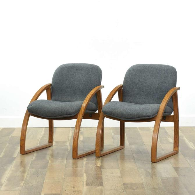 Pair Of Chair World Mid Century Armchairs