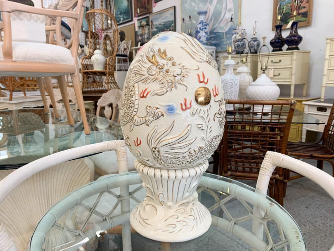 Pierced Dragon Egg Lamp