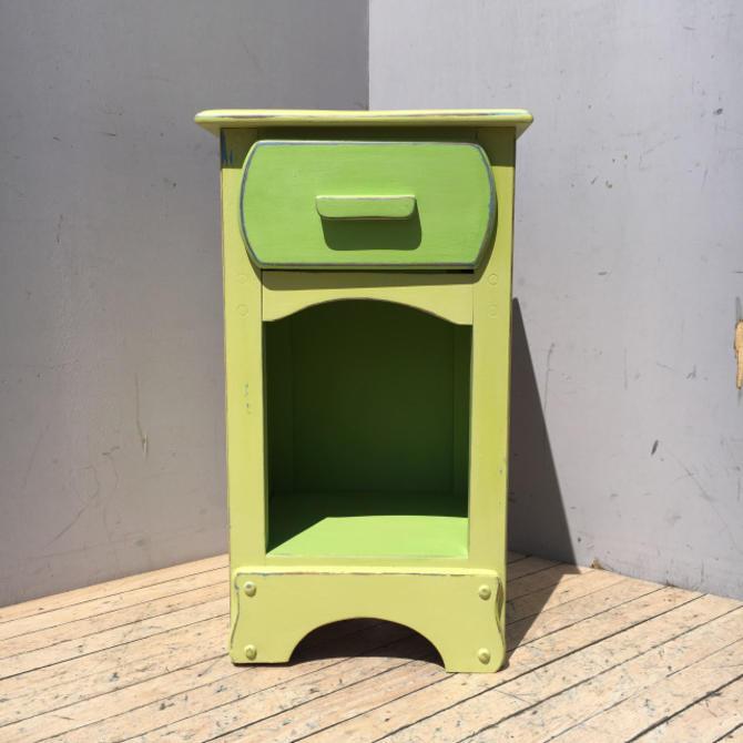 Bright Green Nightstand