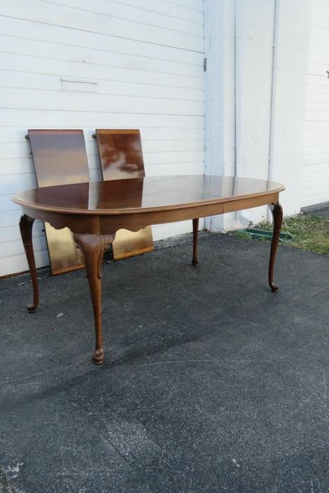 Mahogany Dining Table with Two Leaves 1823X