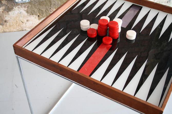 Austin Enterprises Backgammon Table
