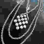 Trifari necklace White enamel by LegendaryBeast