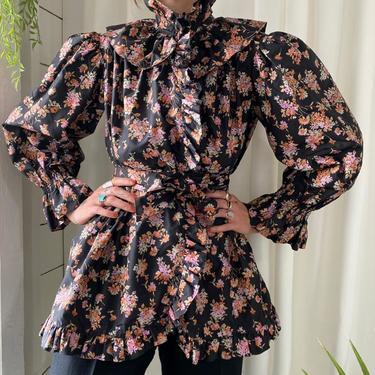 70s YSL Silk Evening Jacket