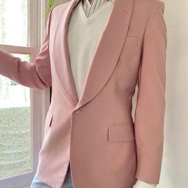 80s Bill Blass Pink Blazer