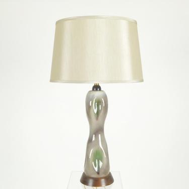Organic Form Porcelain Lamp