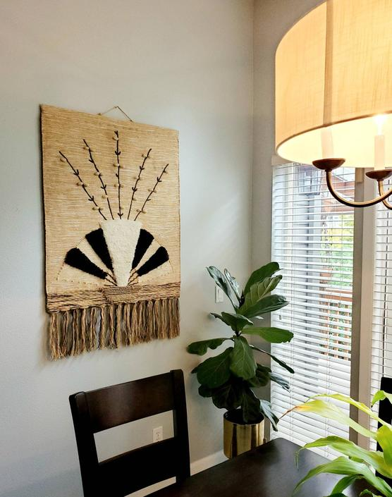 Vintage 88' Woven Wall Hanging by pennyportland