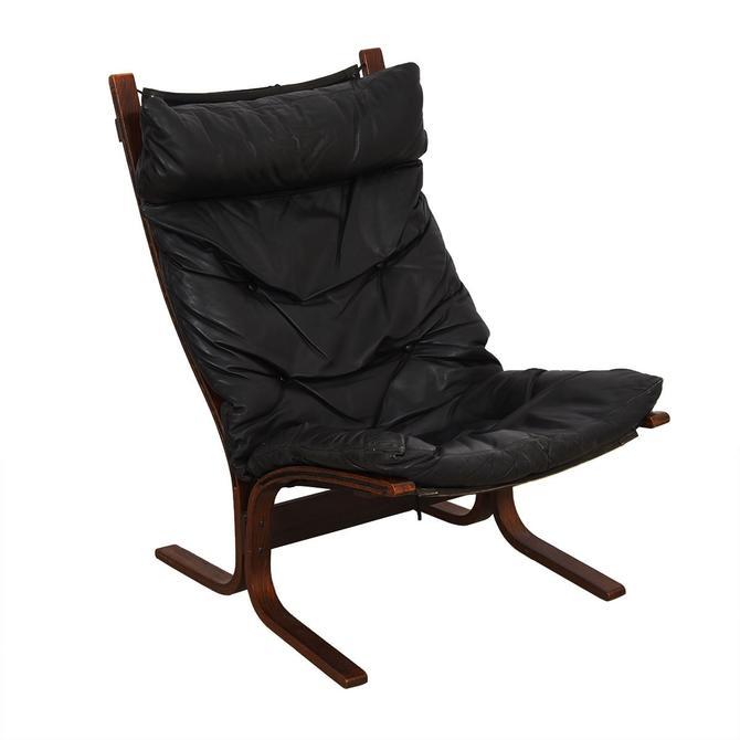Rosewood Westnofa Siesta Tall-Back Lounge Chair