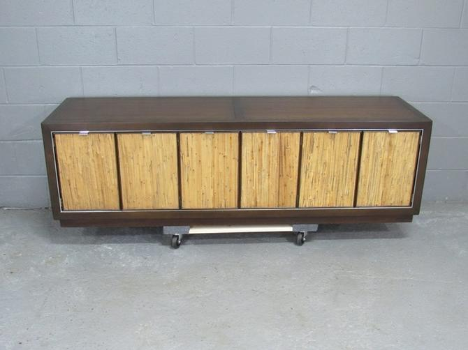 Mid-Century Modern Sideboard Credenza by Drexel