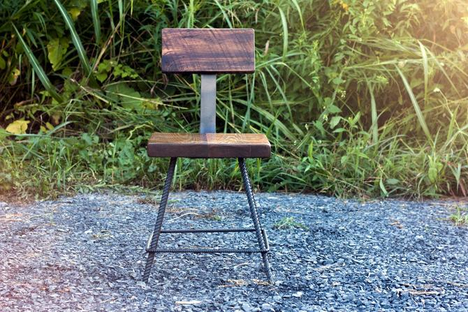 FREE SHIPPING - Coppersmith Reclaimed Wood Industrial Style Bar Stools by StrongOaksWoodshop