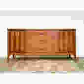 Kent Coffey Vintage Mid Century Long Dresser