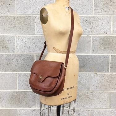 Vintage Coach Lenox Bag Retro 1980s RARE + Archived + British Tan + No 9918 + Genuine Leather + Crossbody or Saddle Bag + Adjustable Strap by RetrospectVintage215