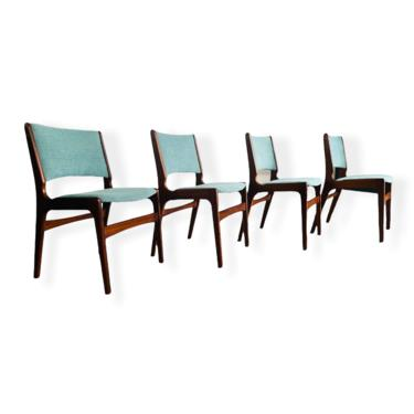 Set 4 Mid-Century Modern Johannes Anderson Dining Chairs
