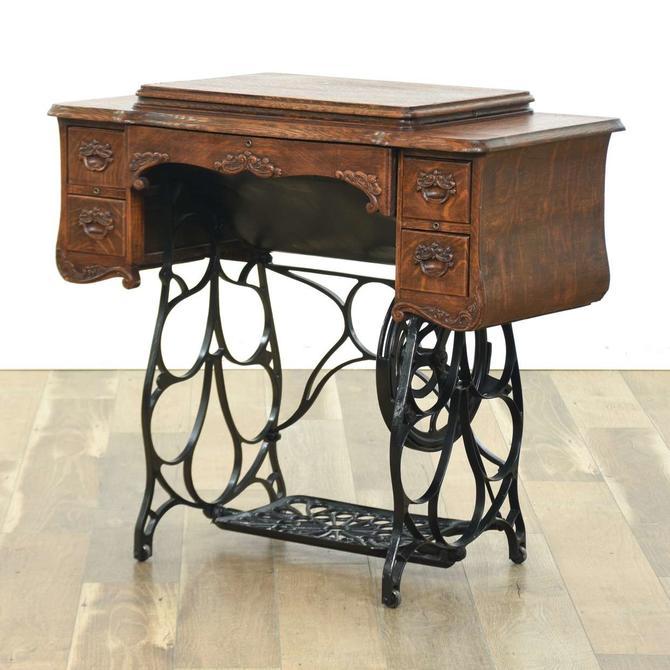 Victorian Sewing Machine Cabinet