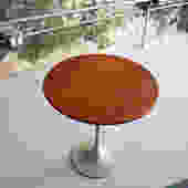 Tulip table in walnut by Florence Knoll for Knoll (early example)