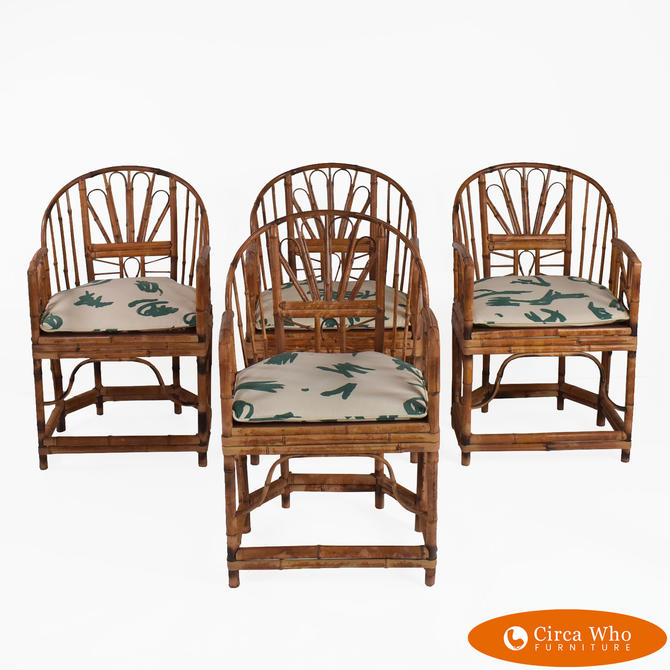 Set of 4 Chairs in Brighton Style