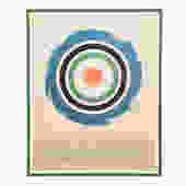 Ken Noland Hirshhorn Museum 1977 Exhibition Poster