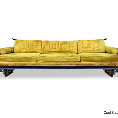 Chinoiserie Style Sofa by Norman MacGregor for Sam Belz of Memphis, Circa 1960s - Please see notes on shipping before you purchase. by CoolCatVintagePA