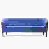 Tufted Blue Sofa