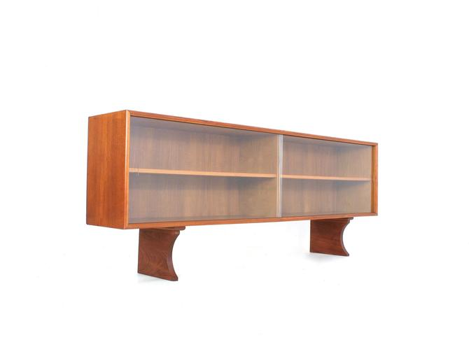 Mid Century Bookcase/Display Cabinet Danish by SputnikFurnitureLLC