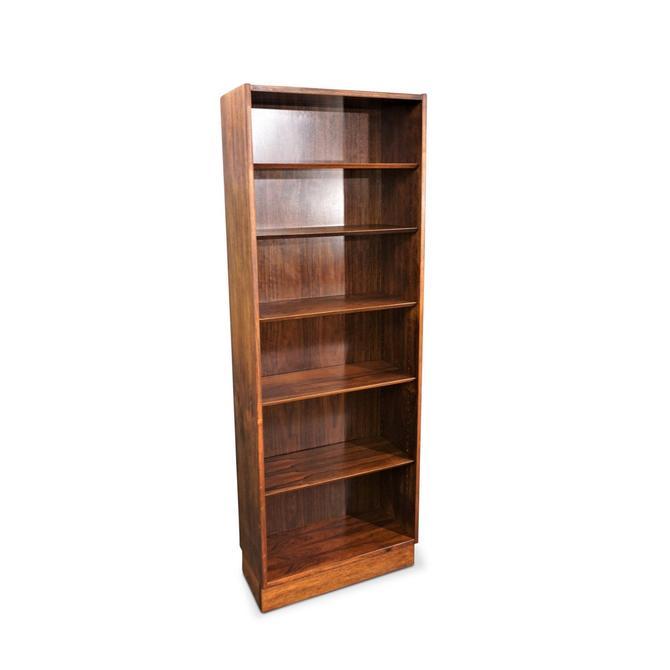 Vintage Danish Mid Century Hundevad Rosewood Bookcase - Mortensen by LanobaDesign