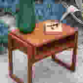 Danish Modern teak nightstand/end table