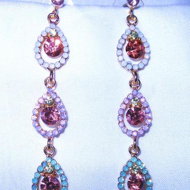 Gorgeous Crystal Dangle Earrings by AllMyItems