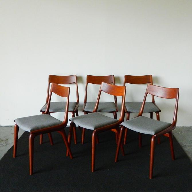 HA-C8352 Six Erik Christiansen Boomerang Chairs