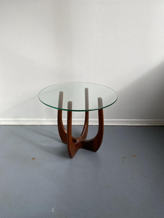 Mid century Adrian Pearsall round side table by TheModernistUS