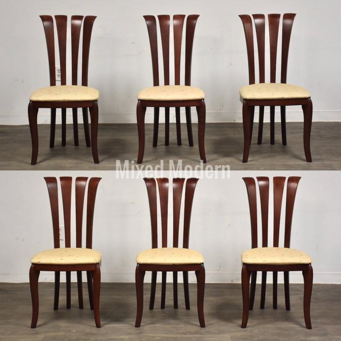 A. Sibau Italian Dining Chairs - Set of 6 by mixedmodern1