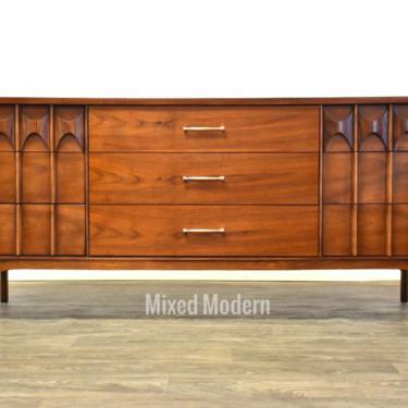 Kent Coffey Perspecta Walnut & Rosewood Long Dresser by mixedmodern1