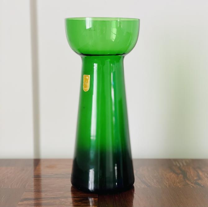Vintage Glass Bulb Forcer, Emerald