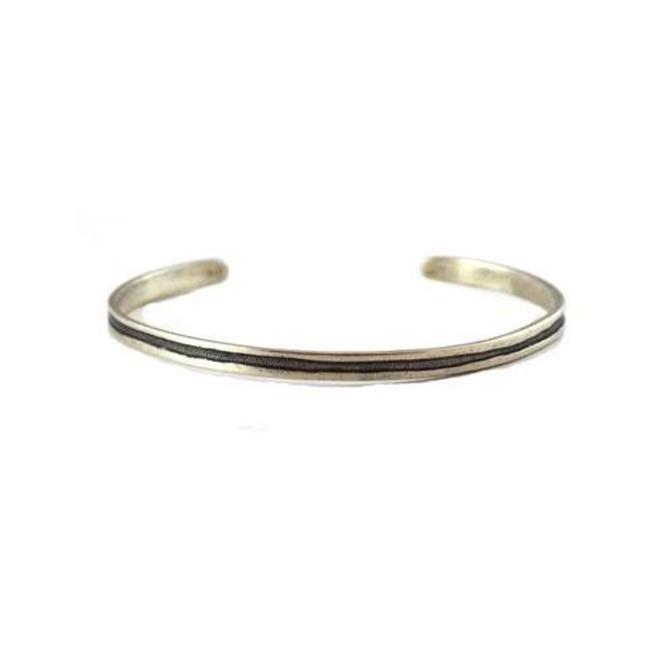 Line Cuff - Silver