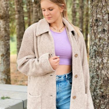 Vintage Sherpa Teddy Coat by MadroneClothing