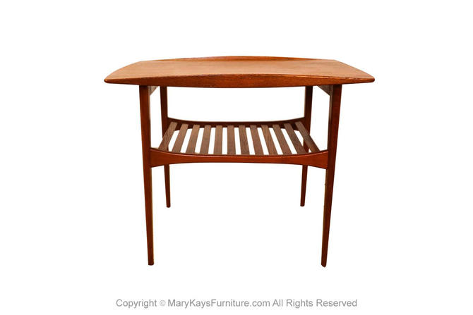 Modern Tove Edvard Kindt Larsen Model FD510 Teak Table by Marykaysfurniture