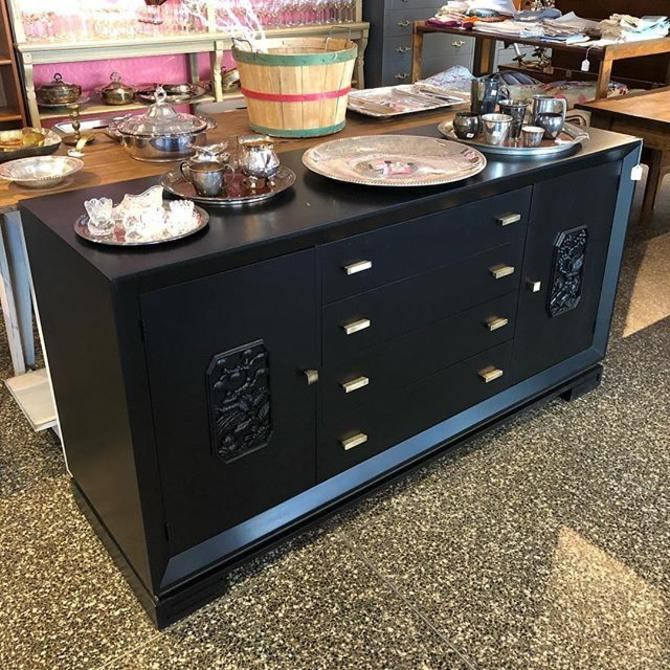 Beautiful Black Credenza! $650