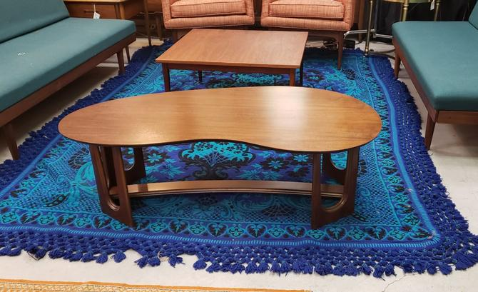 Bassett Boomerang Coffee Table