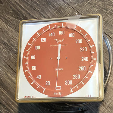 Tycos wall mount sphygmomanometer blood pressure monitor by MadModWorldVintage