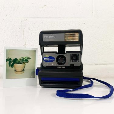 Vintage Polaroid OneStep Talking Camera 600 Instant Film Photography Tested Working Believe in Film Polaroid Photograph Tested Working by CheckEngineVintage