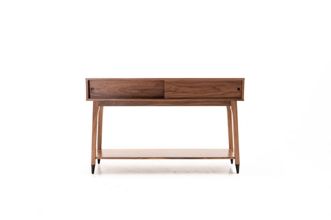 Modern Mid Century Danish Console Credenza by TDFurniture